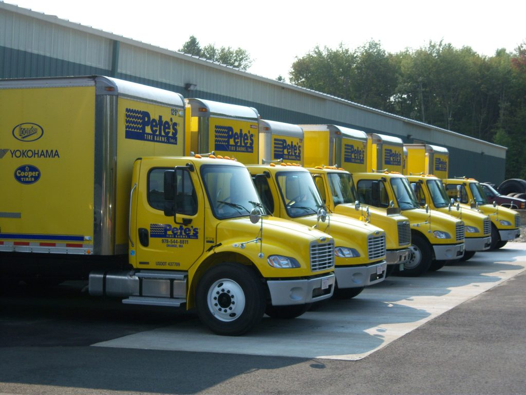 Pete S Tire Barns Distribution Center In Orange Ma Petes Tire