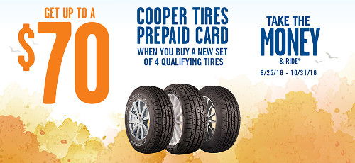 Cooper Tire Rebate >> Cooper Fall 2016 Tire Rebate Tire Sales And Service In New England