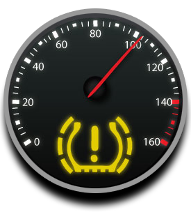 Tpms Icons on Tire Pressure Sensor