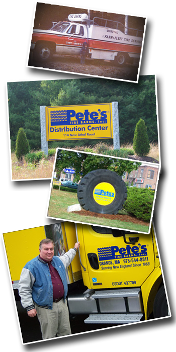 Learn about Pete's Tire Barns