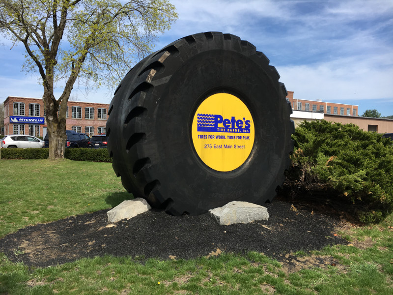 Largest Working Tire