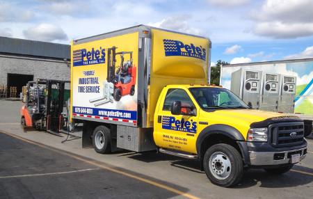Mobile Press Truck