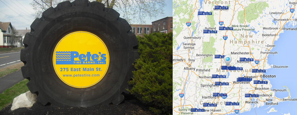 Tire Sales And Service In New England Petes Tire Barns In Ma Nh