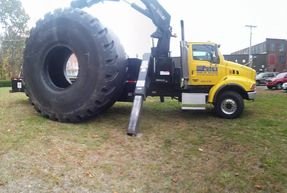 World S Largest Tire Comes To Pete S Tire Barns Tire Sales And