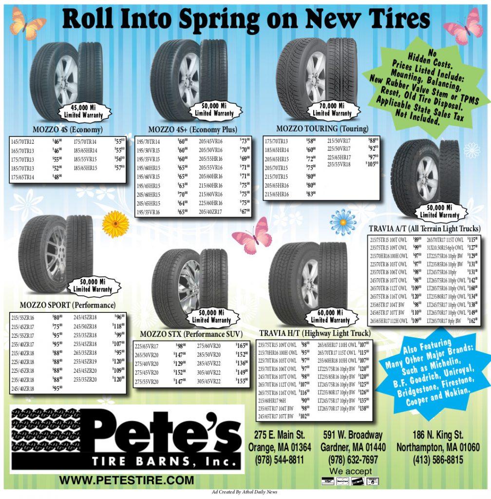 Duraturn Tire Spring 2017