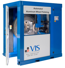 Automated Aluminum Wheel Polishing