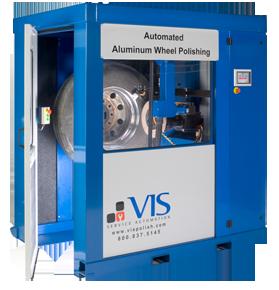 Automated Aluminum Wheel Polishing