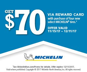 Michelin Winter Tire 2017 Rebate