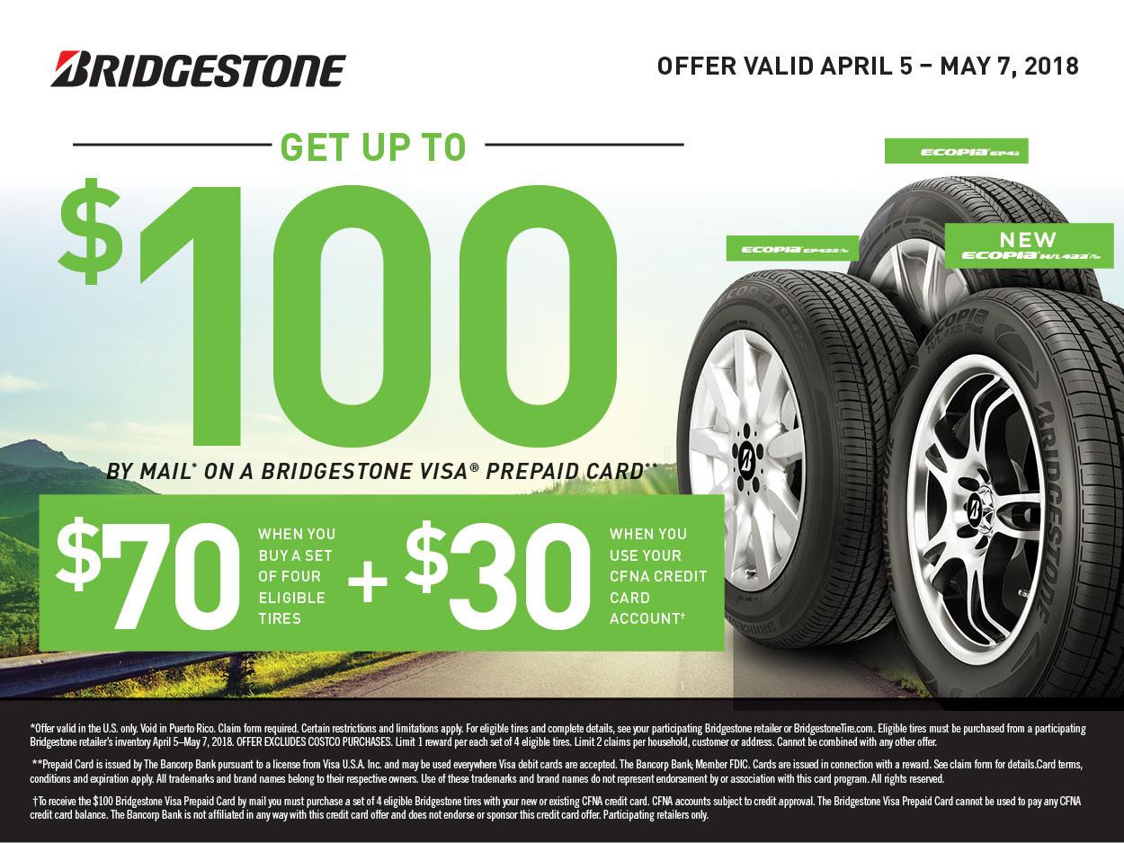 Bridgestone coupons